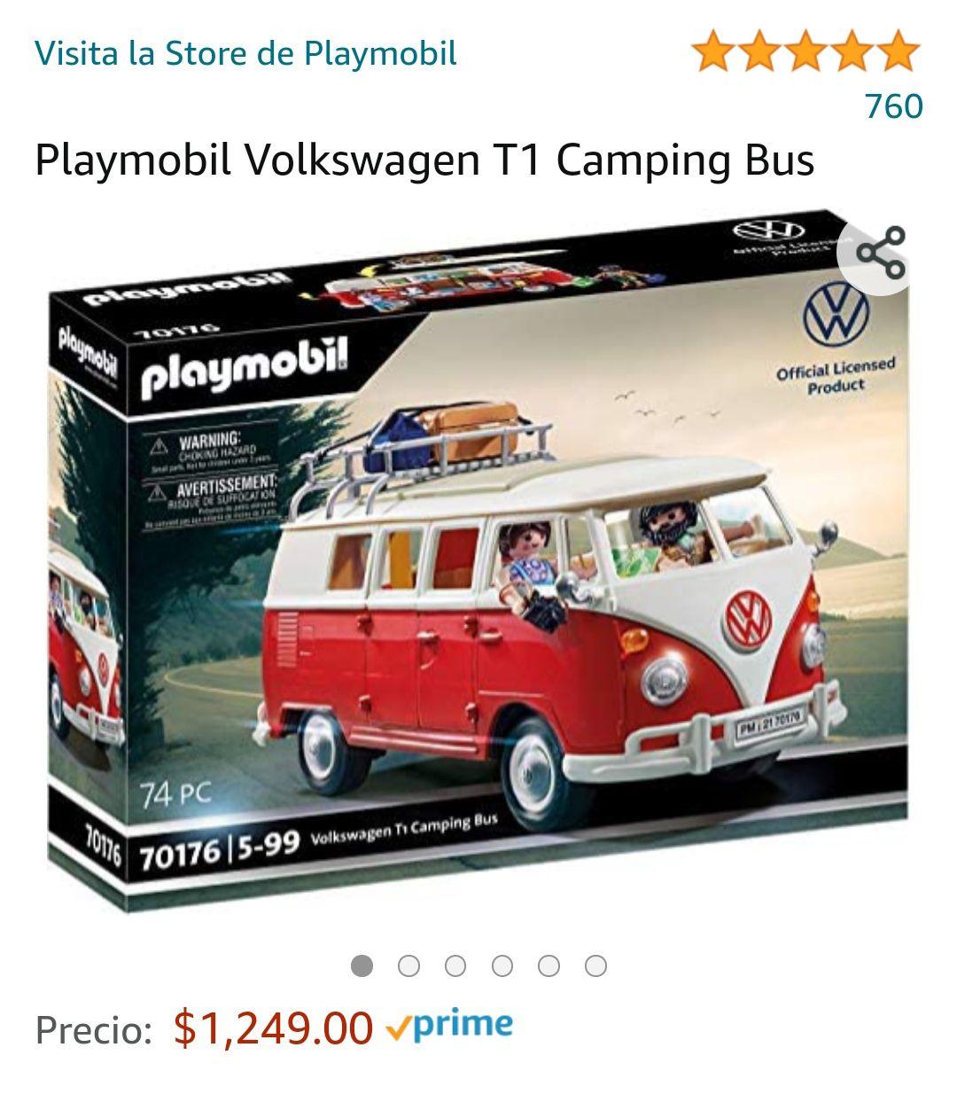 Amazon: Playmobil Volkswagen T1 Camping Bus