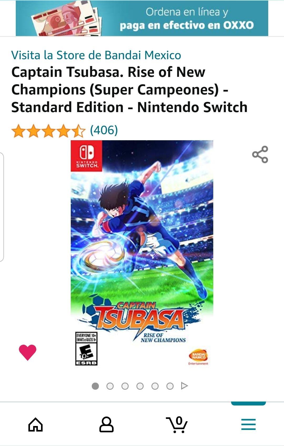 Amazon: Captain Tsubasa. Rise of New Champions (Super Campeones) - Standard Edition - Nintendo Switch