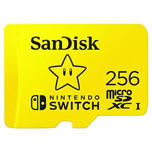 Amazon: SanDisk 256GB MicroSDXC UHS-I Card for Nintendo Switch - SDSQXAO-256G-GNCZN último paso al pagar