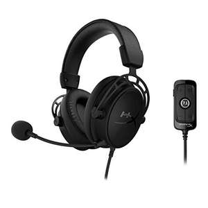 Amazon: HyperX Cloud Alpha S Blackout, 7.1 Surround