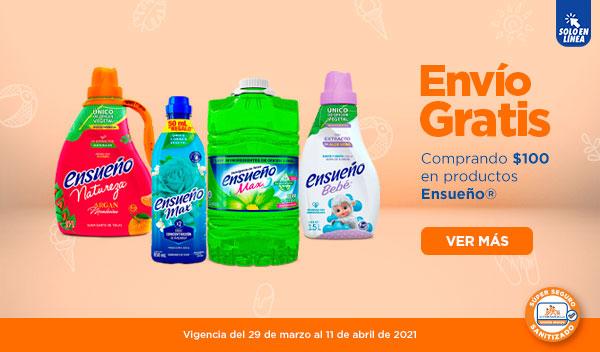Chedraui: Envío gratis en tu súper en la compra mínima de $100 en productos Ensueño
