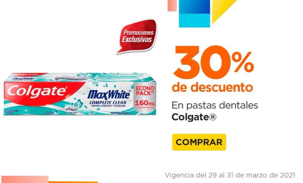 Chedraui: 30% de descuento en pastas dentales Colgate