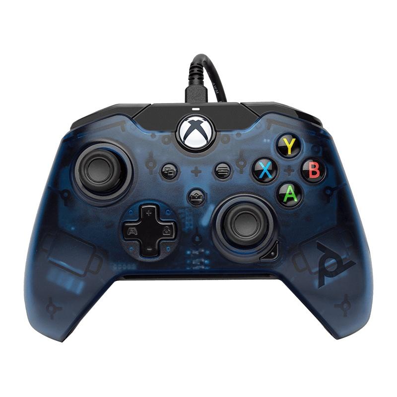 CyberPuerta: PDP Control para Xbox One, Alámbrico, USB, Azul