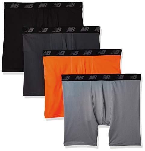 Amazon: 4 New Balance Boxer Brief Ropa Interior para Hombre CON PRIME