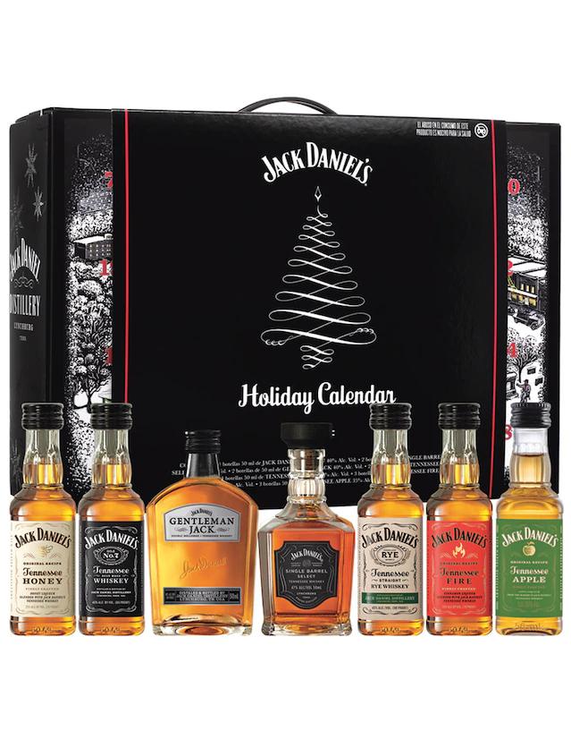 Liverpool: Jack Daniel's Holiday Calendar 50 ml cada botella
