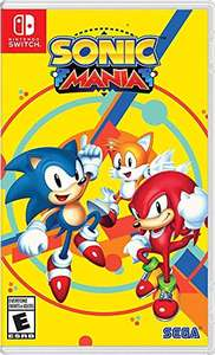 Amazon: Sonic Mania - Standard Edition - Nintendo Switch