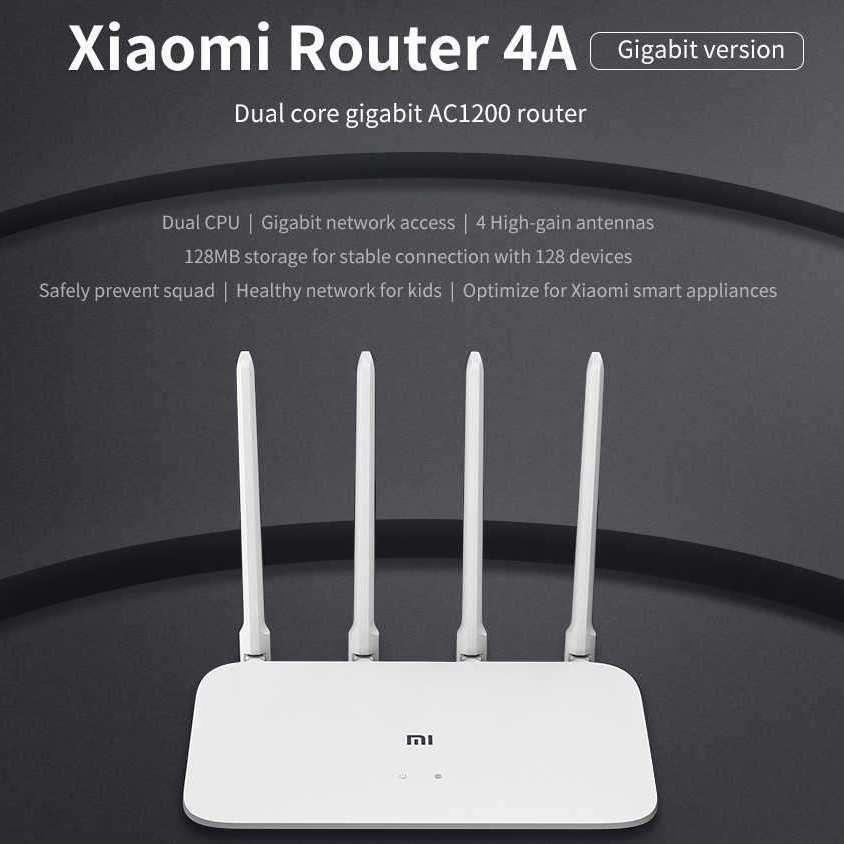 AliExpress: Xiaomi Router 4A Gigabit Version Dual Band 2.4 y 5G