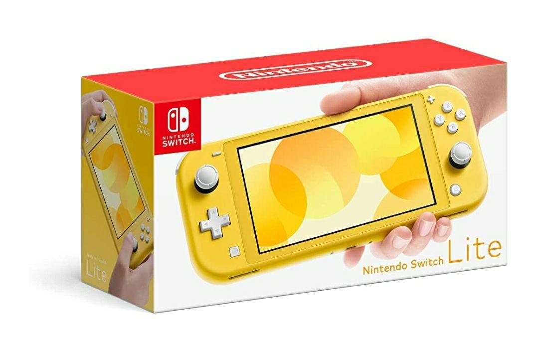 Amazon: consola Nintendo Switch Lite