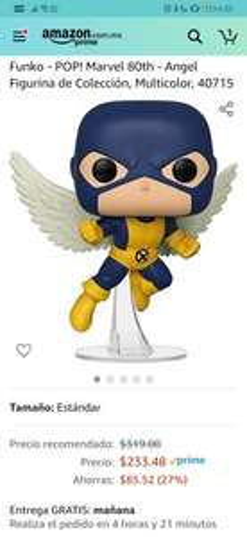 Amazon - Funko Marvel Angel