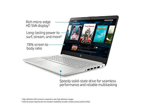 AMAZON -- RENEWED HP Laptop 14 pulgadas, Ryzen 3 3200U hasta 3,5 GHz, AMD Radeon Vega 3 Graphics, 4GB SDRAM, SSD de 128 GB