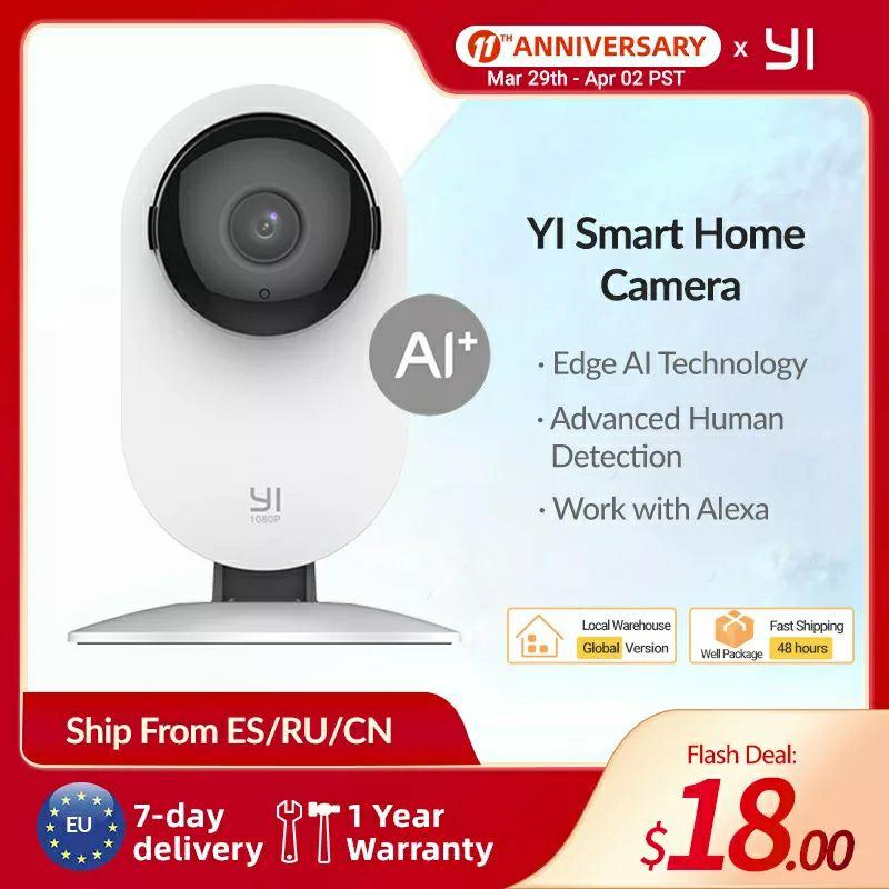 Aliexpress: Yi Camara Smart Home 1080p