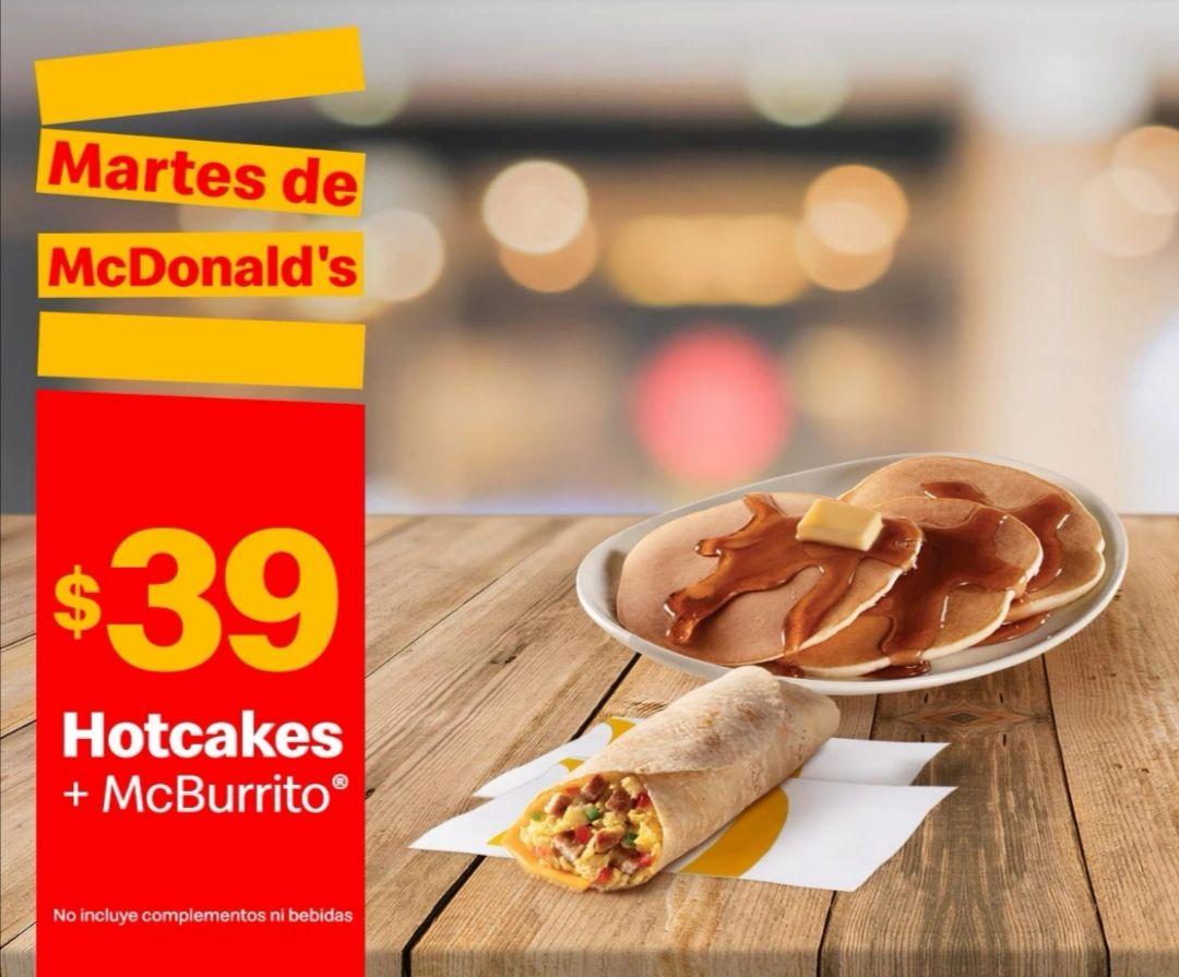 McDonald's: Martes de McDonald's 30 Marzo