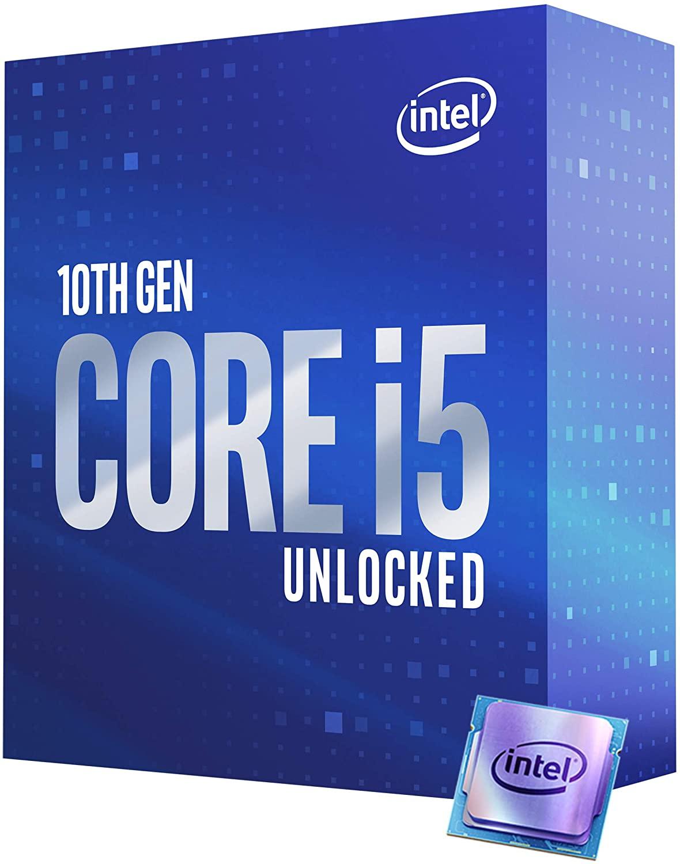 CyberPuerta: Intel Core i5-10600K, S-1200, 4.10GHz, Six-Core, 12MB Smart Cache (10ma. Generación - Comet Lake)