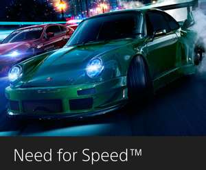 PSN - NEED FOR Speed ps4