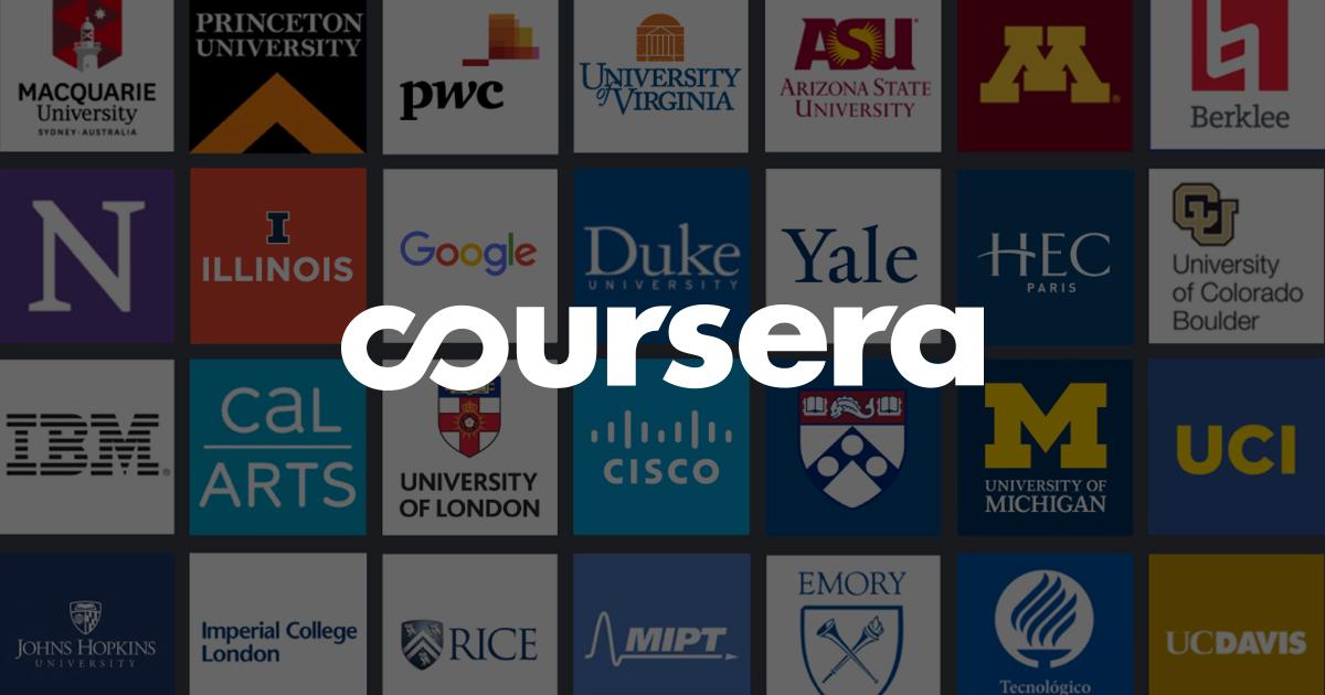Coursera: 20 cursos gratuitos con certificado