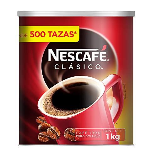 Amazon: Nescafé Clásico Café Soluble - 1 KG
