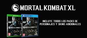 Amazon USA: Mortal Kombat XL para PS4 a $36 dólares, y para Xbox One a $38 dólares