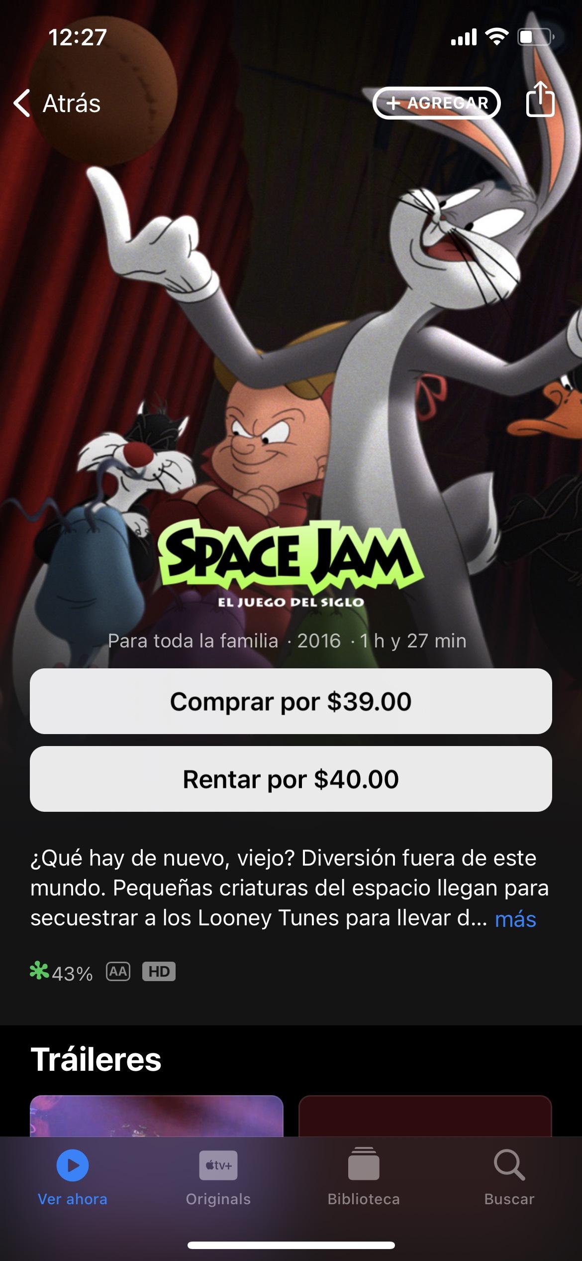 iTunes: Space Jam