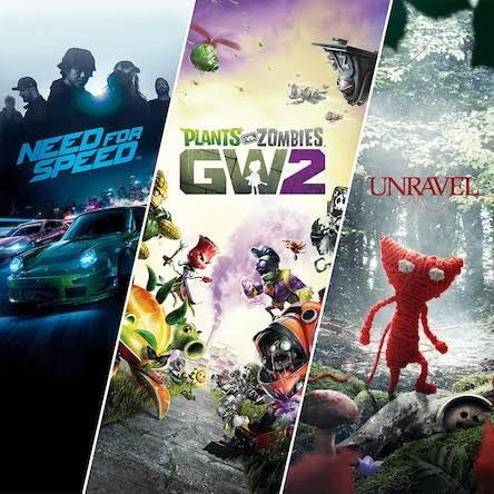 PSN, Need for Speed + Plantas va Zombies + Unravel en tan solo $95 (con PS Plus)