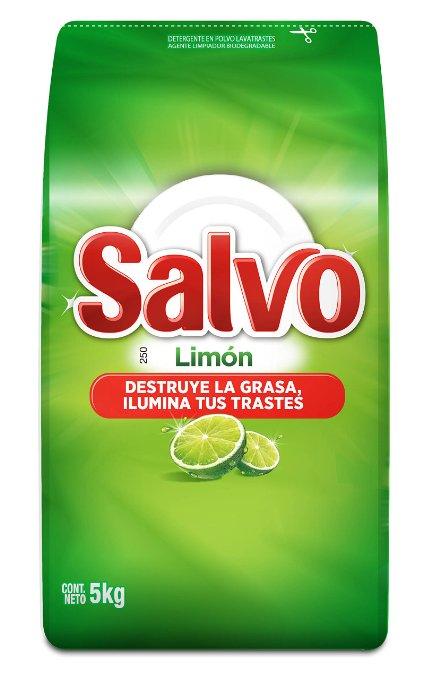 Amazon: Salvo Lavatrastes en Polvo 5 kg