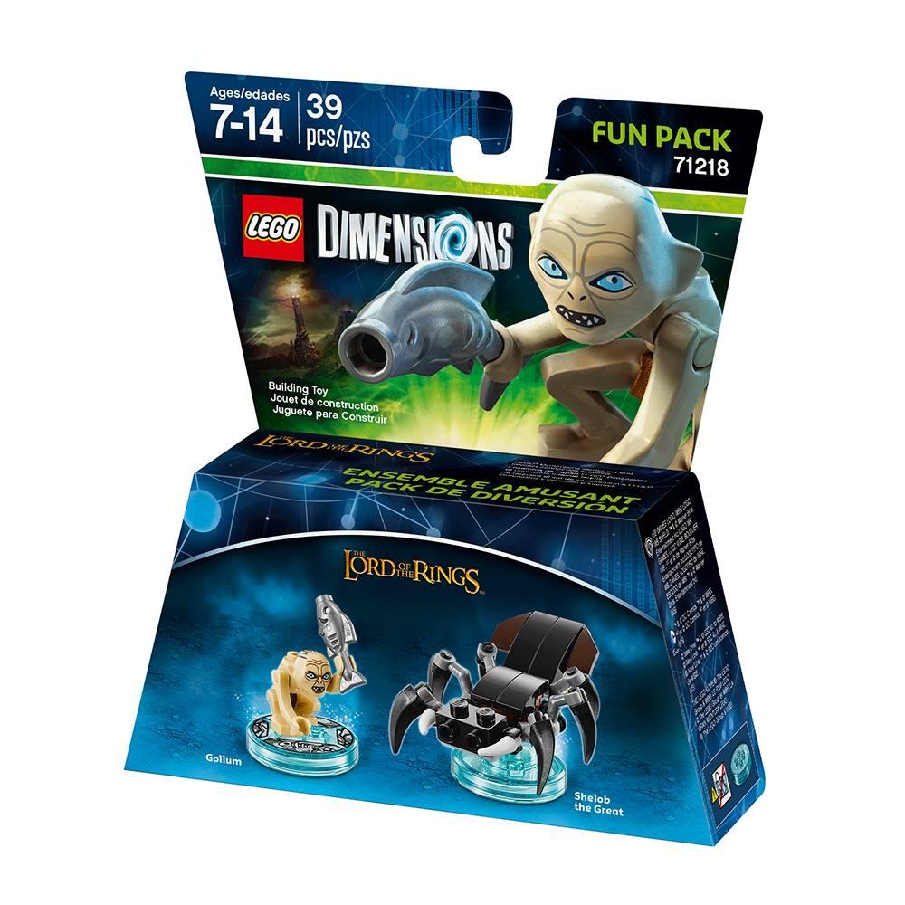 Walmart: Figura Lego Dimensions LotR Gollum Fun Pack