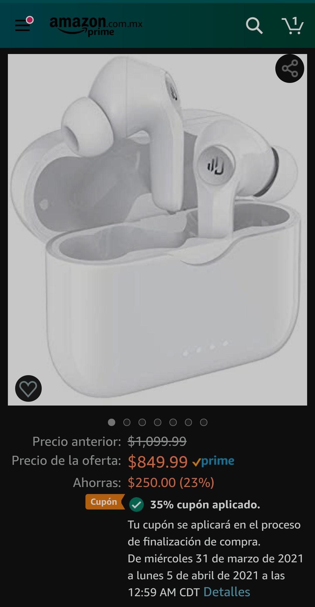 Amazon: Dudios M3 Por $552