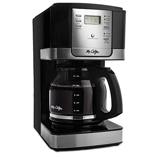 Amazon: Mr. Coffee Cafetera programable de 12 tazas