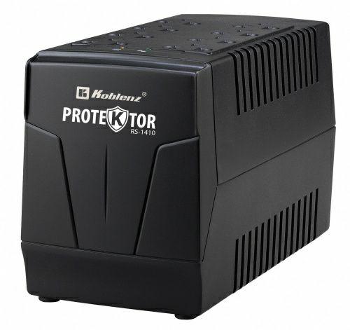 CyberPuerta: Regulador Koblenz RS-1410, 700W, 1410VA, Salida 108-132V, 8 Contactos