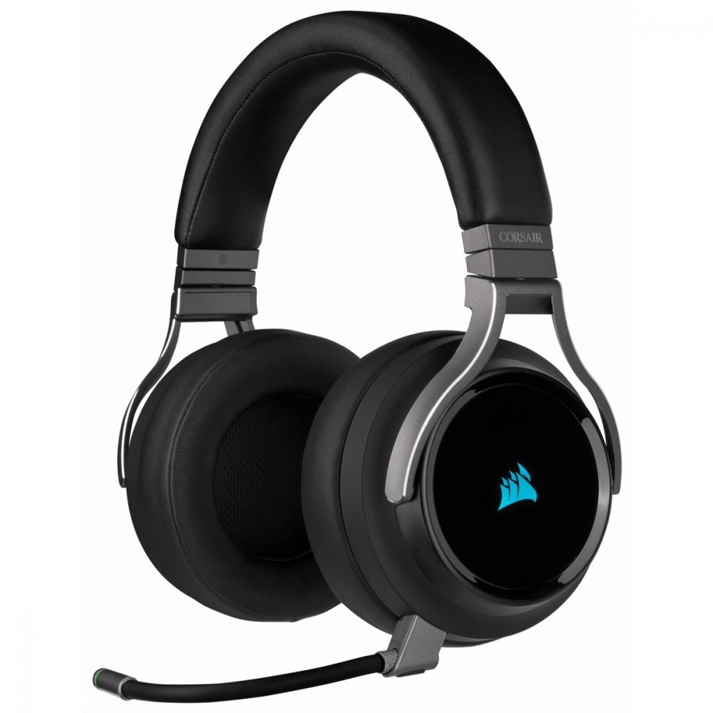 CyberPuerta: Corsair Audífonos Gamer VIRTUOSO negro el del microfono no chido
