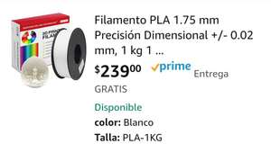 Amazon, PLA Blanco