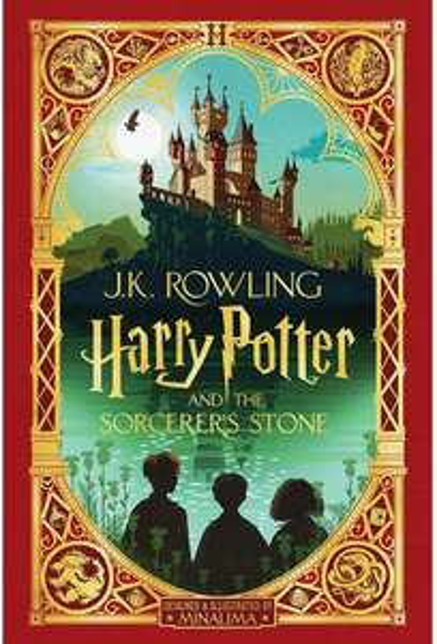 Amazon: Harry Potter and the Sorcerer's Stone: Minalima Edition