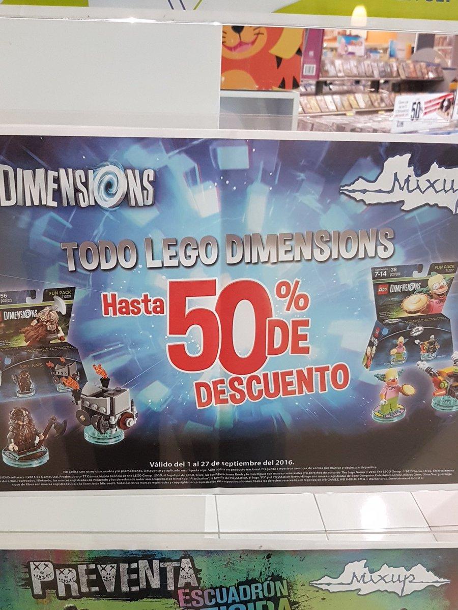 "Mixup: ""Todo"" Lego Dimensions hasta 50% de descuento."