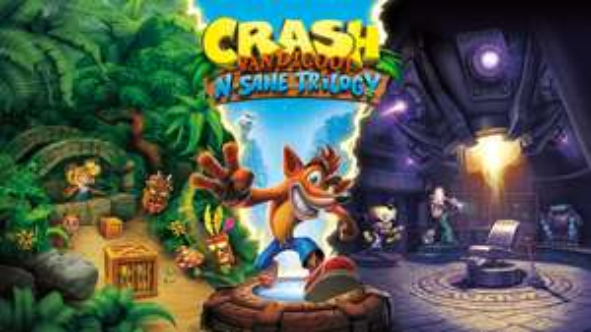 Nintendo, Oferta de crash nsane trilogy en la e-shop -50%