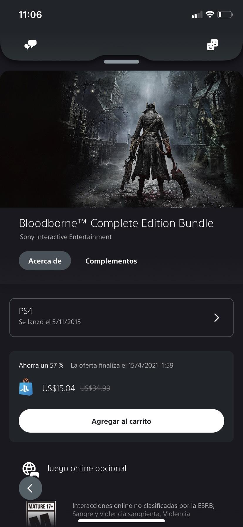 PSN: Bloodborne Complete Edition Bundle