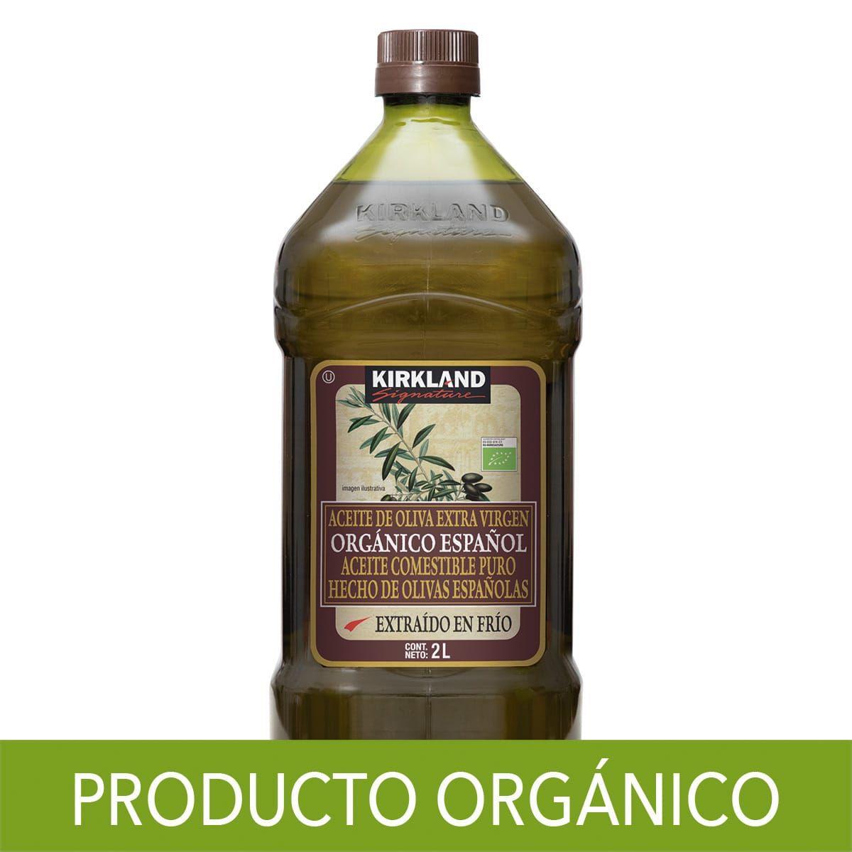 Costco: Kirkland Signature, Aceite de Oliva Orgánico Español 2 litros