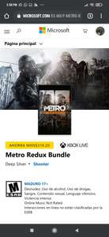 Microsoft Store: Metro Redux Bundle