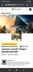 Microsoft Store: Assassin's creed origins (Deluxe edition)