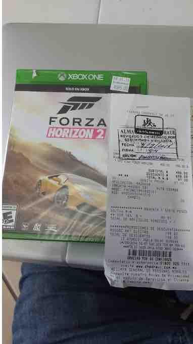 Chedraui Xalapa Centro: Forza Horizon 2 Xbox One de $595 a $97