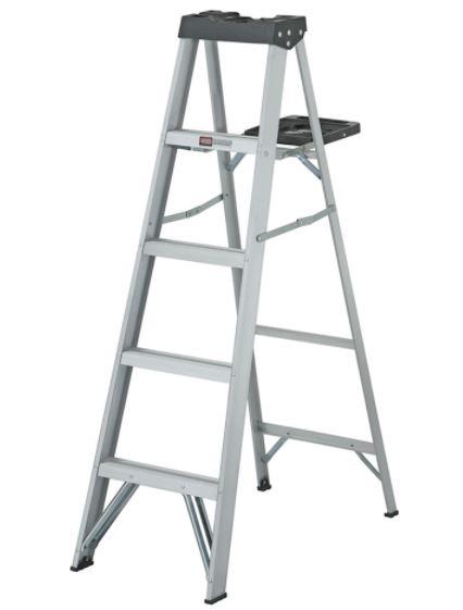 Home Depot: Escalera De Aluminio Tijera