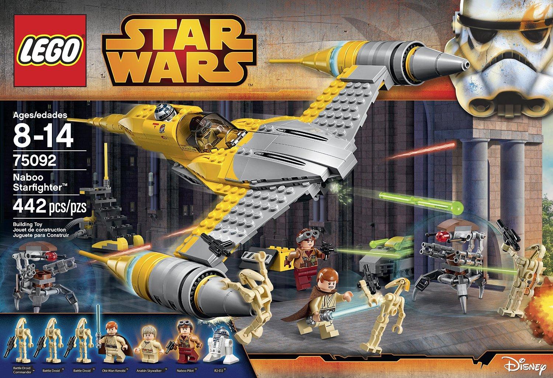 Walmart Morelia: Liquidación Lego Star Wars Naboo Starfighter