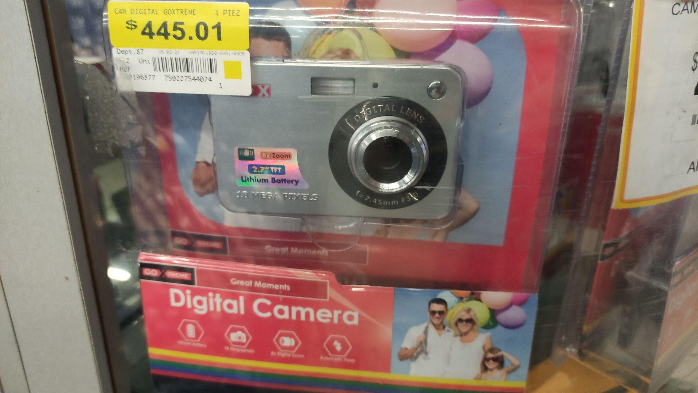 Walmart: Camara Digital GoXtreme