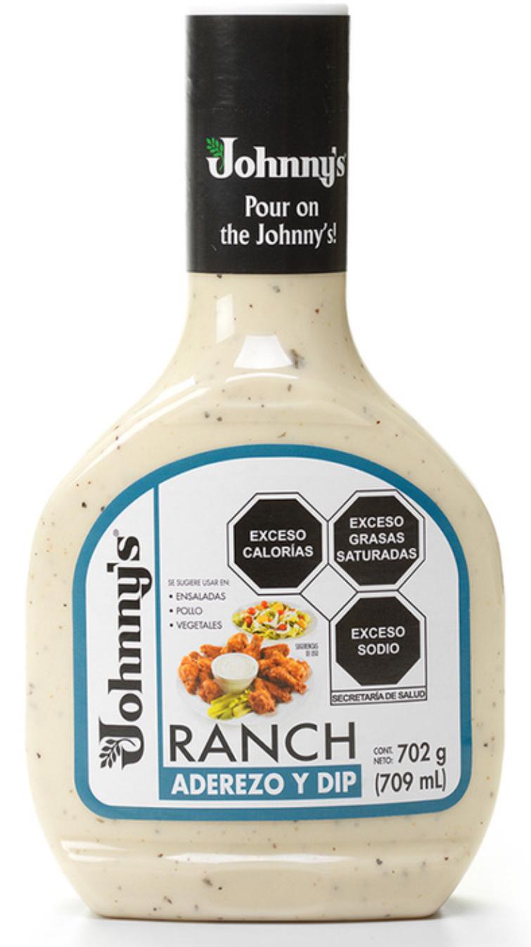 Costco Aderezo Ranch Johnny's 2 de 708 ml