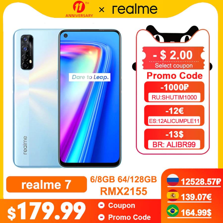 AliExpress: Realme 7 (6gb ram)