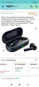 Amazon, Razer Hammerhead True Wireless