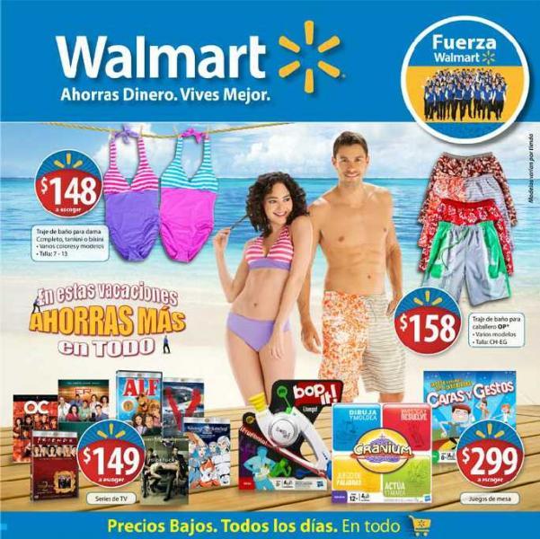 Folleto Walmart julio 5: descuentos en pantallas, series de TV, alimento para perro y más