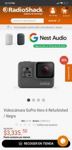 Radioshack, GoPro hero 6 Black Refurbished