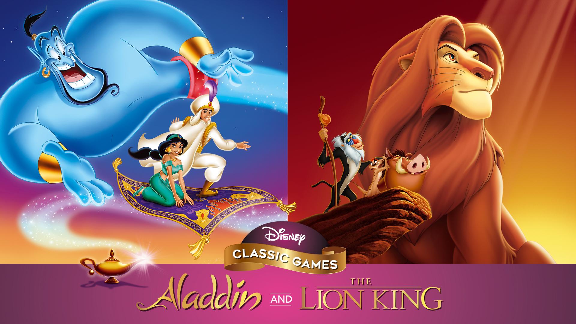 Nintendo Aladdin y el Rey león