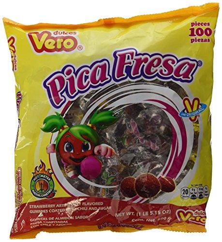 Amazon: Pica Fresa 100 unidades