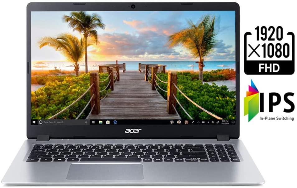 "Amazon: Acer Aspire 5 Laptop, Pantalla IPS Full HD 15,6"", Ryzen 3 3200U, 4GB/128GB SSD, Teclado Retroiluminado"