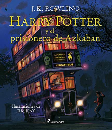 Amazon. Harry Potter 3. Harry Potter y el prisionero de Azkaban (edición ilustrada)